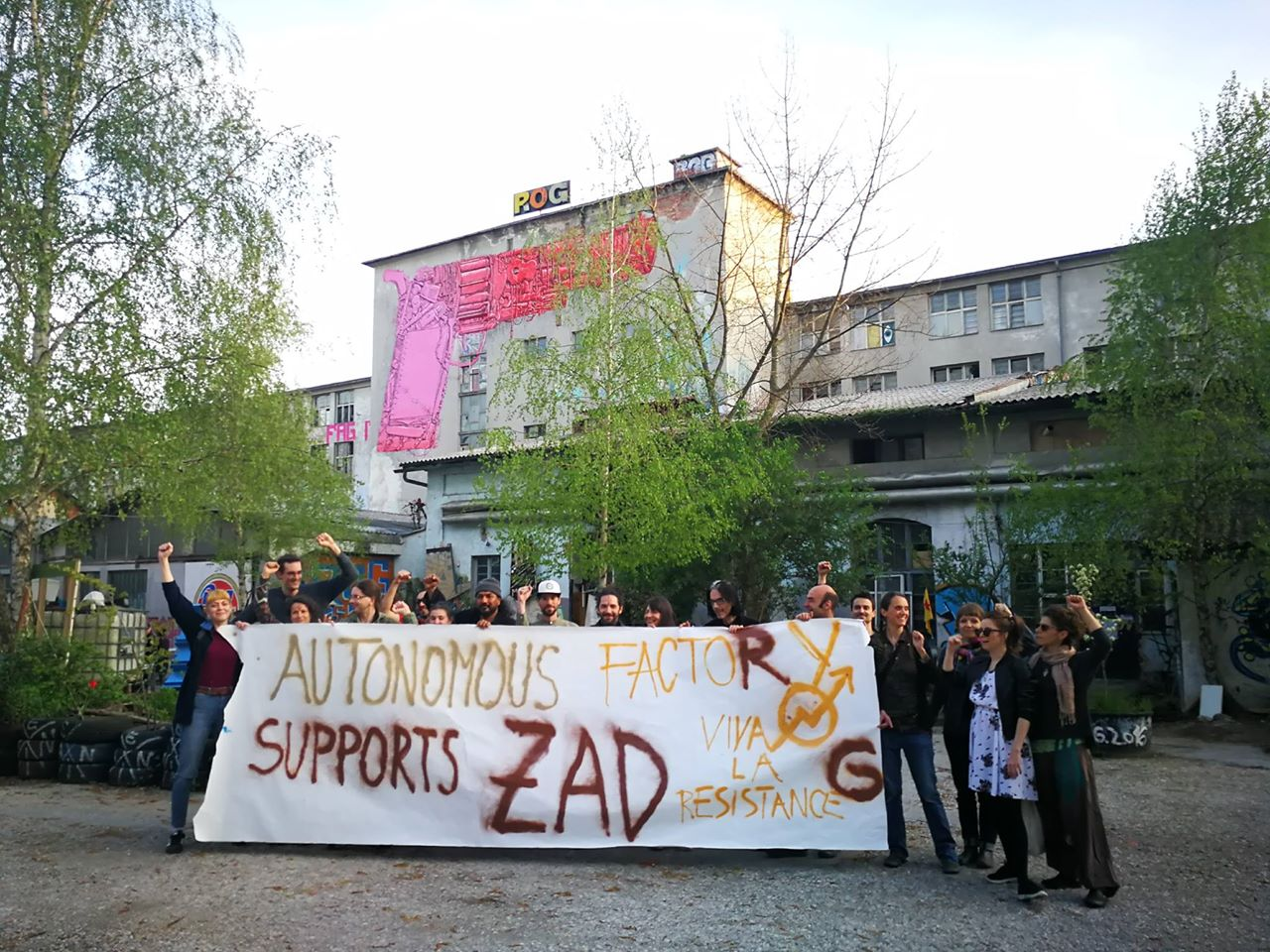 Letter of solidarity with La ZAD, France